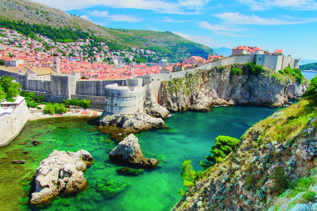 Croatia City Walls