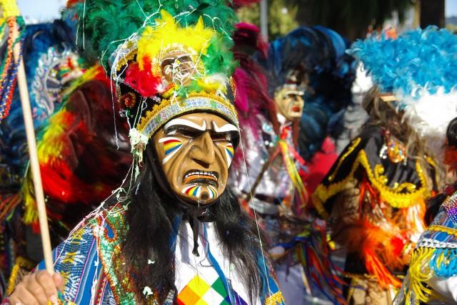personne dguis au carnaval