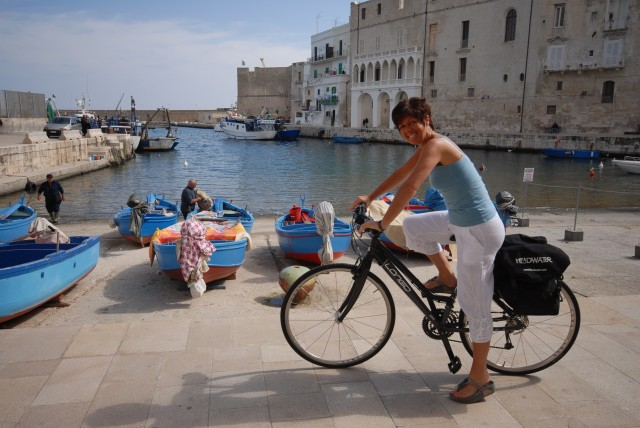 Cycling in Monopoli