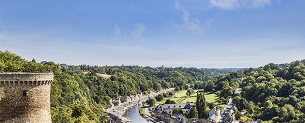 A view over Dinan.