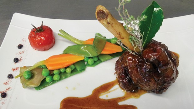 Confit Lamb Shank - Provence
