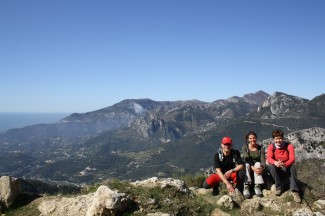 Walking the hinterland of the French Riviera