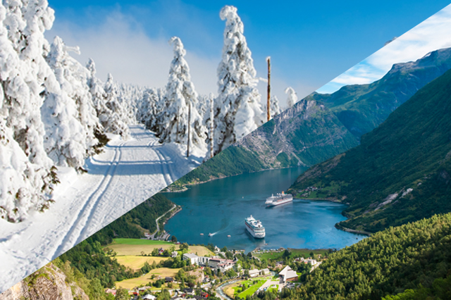 travel options from norway germany