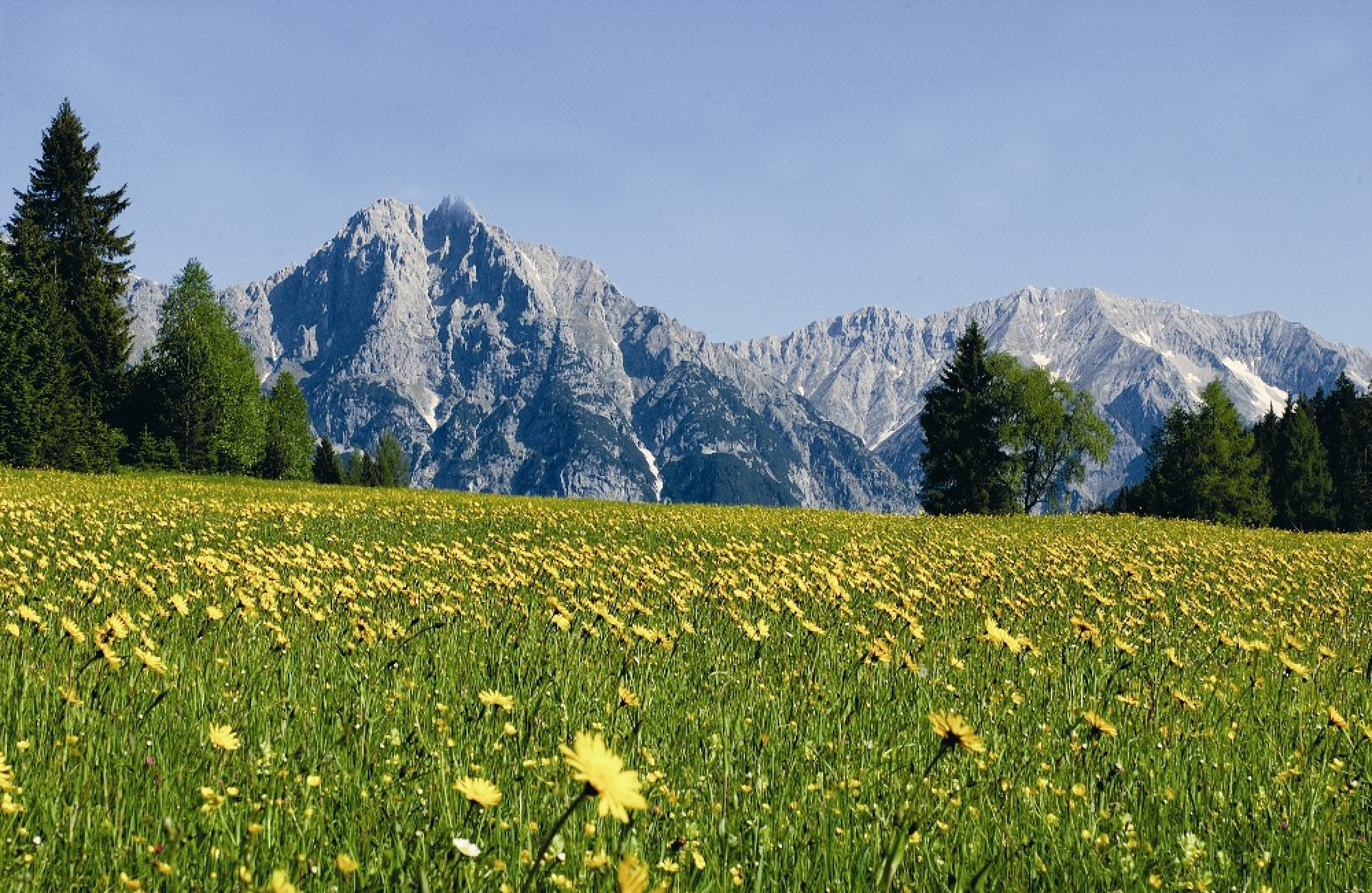 A lovely image of Wetterstein in Austria