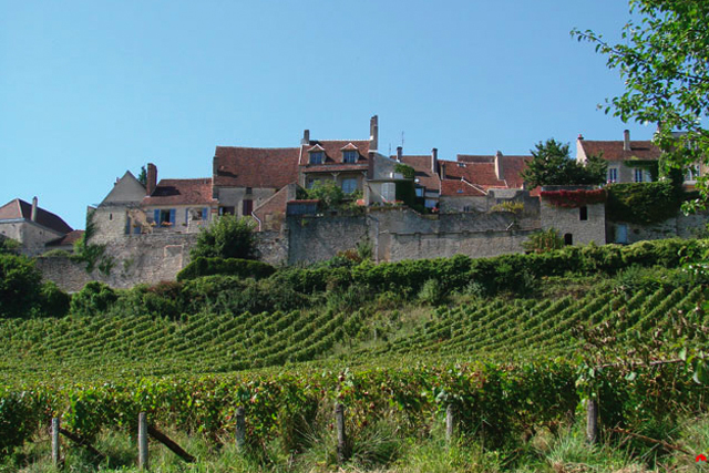 The Village of Vézelay, France.