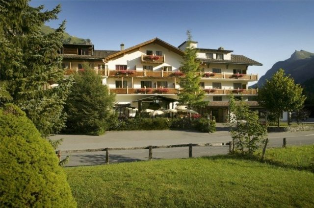 The Hotel Alfa Soleil in Kandersteg