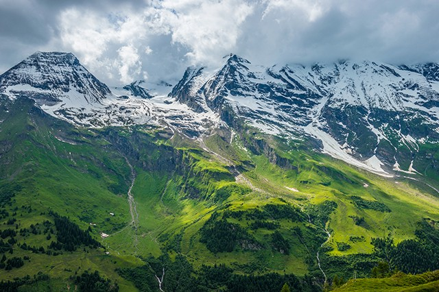 Grossglockner High Alpine Road. Austria.