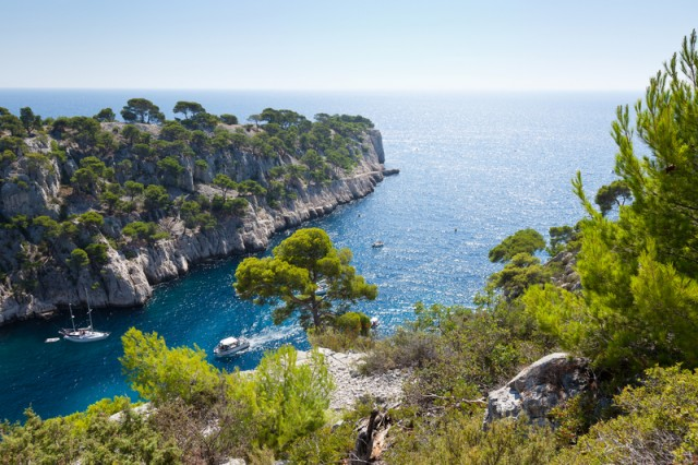 The famous Calanques of Provence