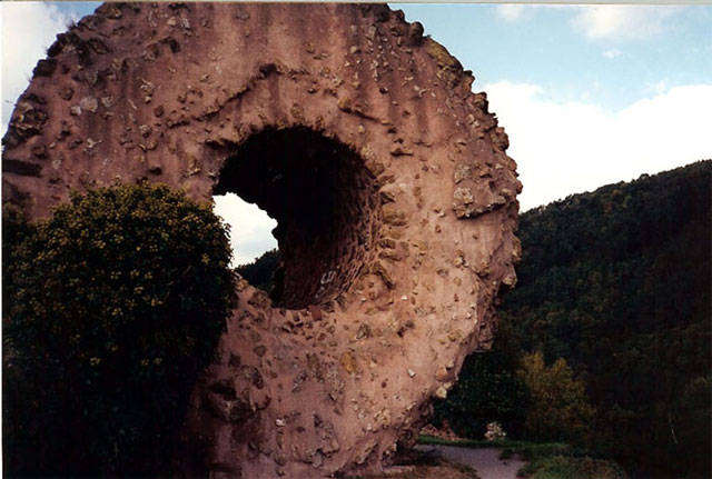 Engelbourg-ruins