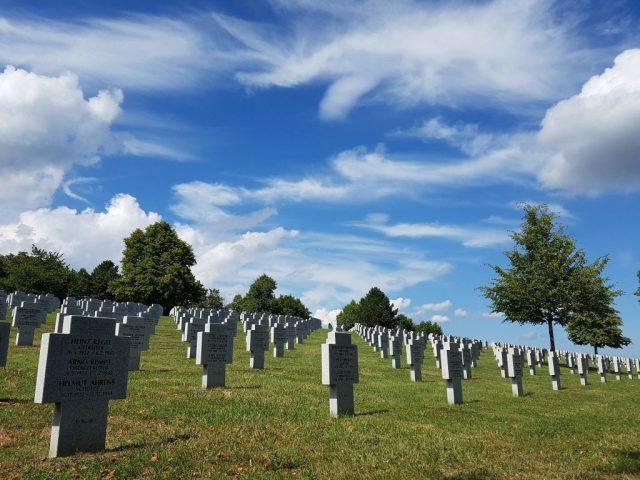 German cemetery, Alsace