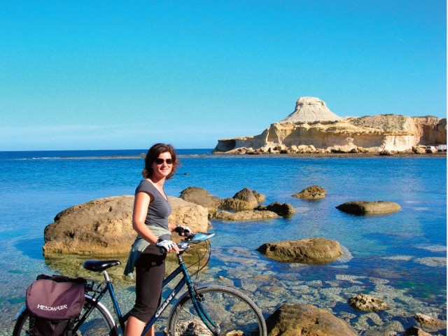 Gozo Scenery Cycling in November and December