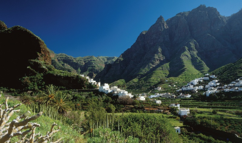 Typical scene on the Contrasts of Gran Canaria Walking Holiday...