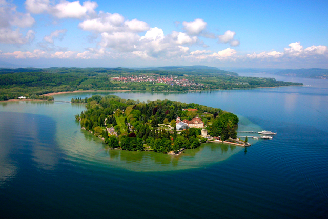 Mainau Island in Lake Constance
