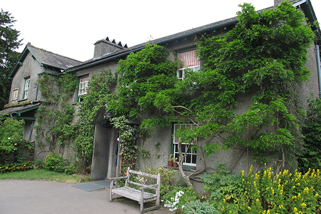 Beatrix Potters house in the Lake District. Photo: David Joyce / Flickr.