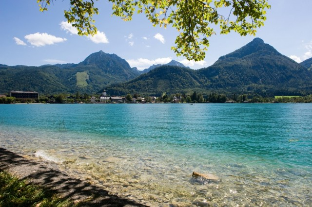 Walk or cycle to St Wolfgang from Salskammergut, Austria