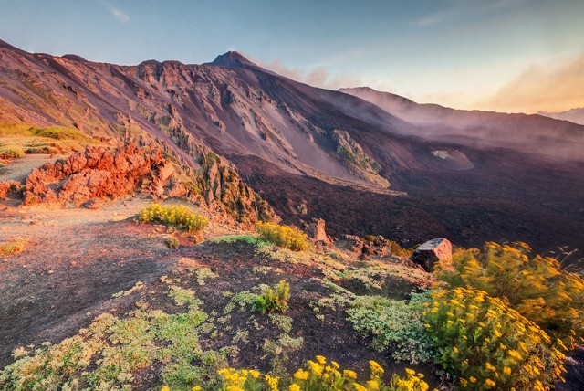 View on Mount Etna - © unknown1861 | iStockPhoto