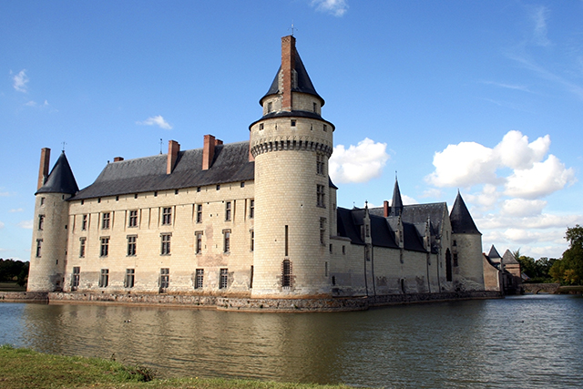 Famous Chateau Plessis-Bourre, France. Photo: Deb22.