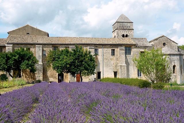 Saint-Paul Asylum, Provence. Vincent Van Gogh checked himself into this Asylum in May 1889. Photo: Karen McPhie / Trover.