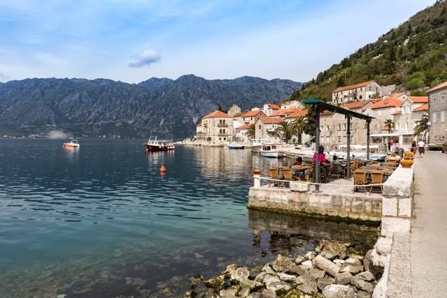 The lovely bay town of Perast