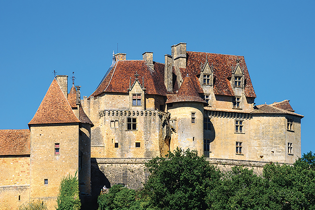 Castle of Biron, Dordogne (France)