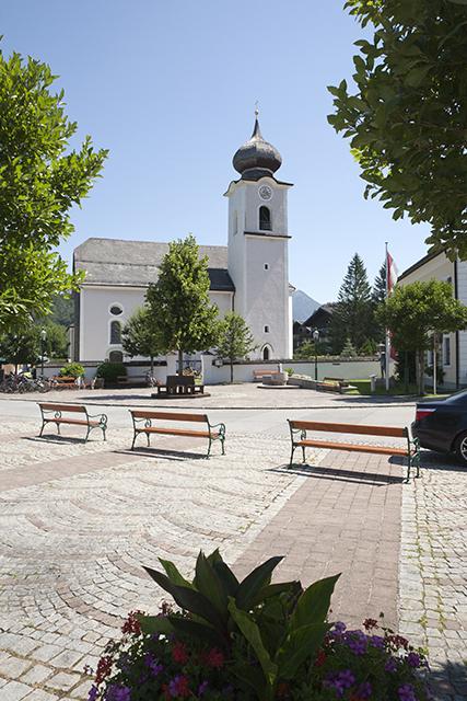 Pfarrkirche in Strobl.