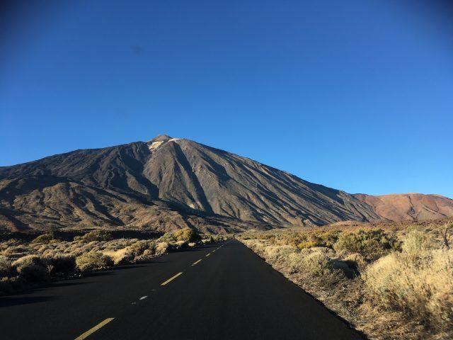 Teide road, Tenerife