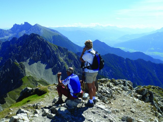 Enjoy a self guided walking week in the Leutasch Valley, stunning mountain views complete the accommodation nearby.