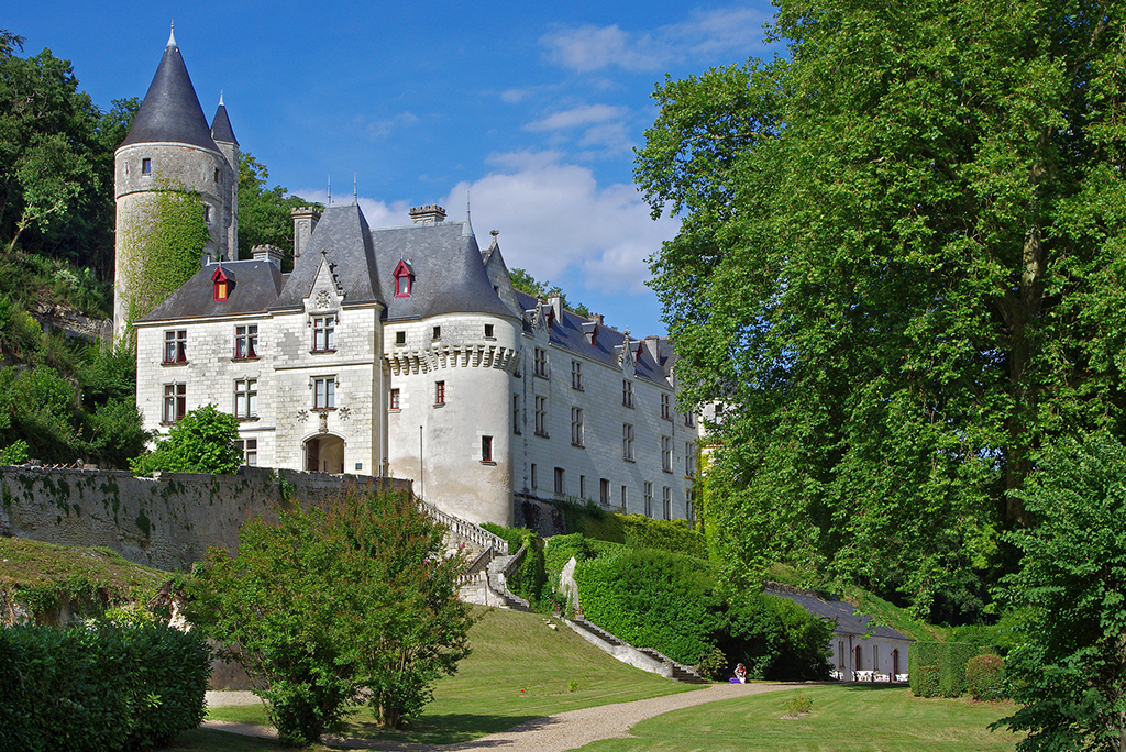 C15 chateau in Loire