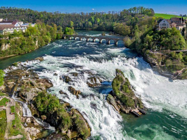 Rhine Falls at Schaffhausen