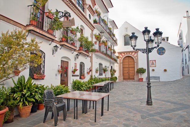 Canillas de Albaida white village, Andalucia