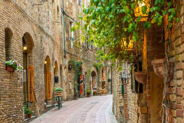 San Gimignana, Tuscany