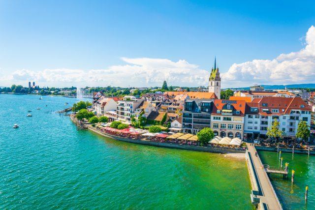 Friedrichshafen harbour