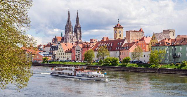 Regensburg and the Danube, Bavaria